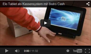 Bistro-Cash Gastronomie Kassensystem im Video